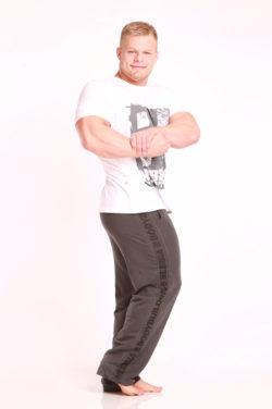 Nebbia Fitness Pants 966 - Fitness Broek Grijs-2