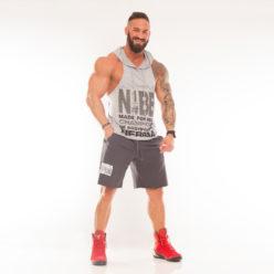 Nebbia Fitness Shorts 944 - Fitness Korte Broek Grijs-1