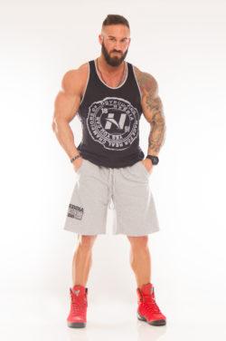 Nebbia Fitness Shorts 944 - Fitness Korte Broek Lichtgrijs-1