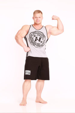 Nebbia Fitness Singlet 976 - Fitness Singlet Grijs-1