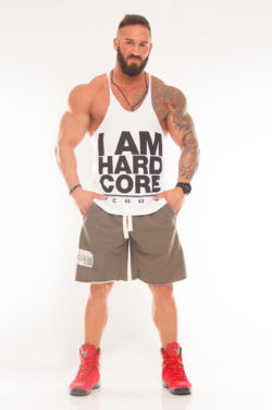 Nebbia Fitness Singlet Hardcore 977 - Fitness Singlet Wit-1