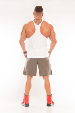 Nebbia Fitness Singlet Hardcore 977 - Fitness Singlet Wit-2