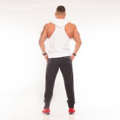 Nebbia Hooded Singlet 974 - Fitness Singlet Wit-2