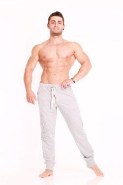 Nebbia Pants Physique 912 - Fitness Broek Lichtgrijs-1