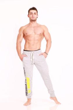 Nebbia Pants Physique 913 - Fitness Broek Lichtgrijs-1