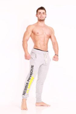 Nebbia Pants Physique 913 - Fitness Broek Lichtgrijs-2