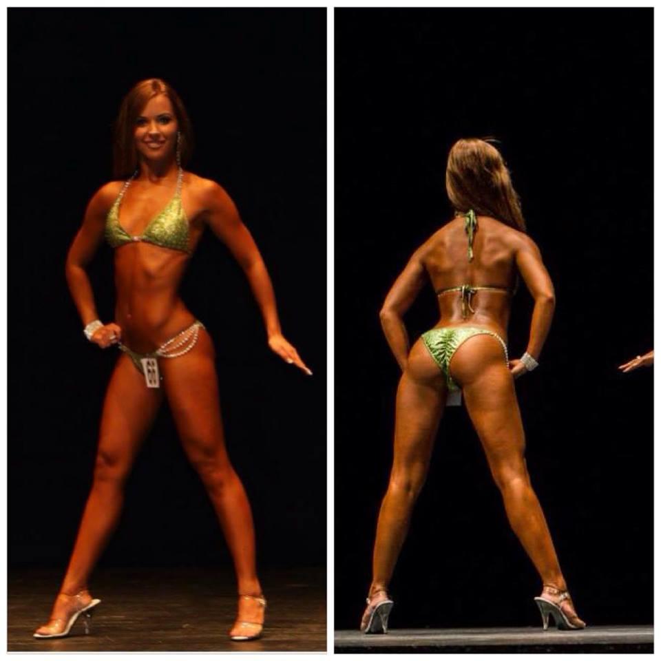 Tamara Miesen Bodybuilding Kleding atleet Belgische Kampioenschappen bikini