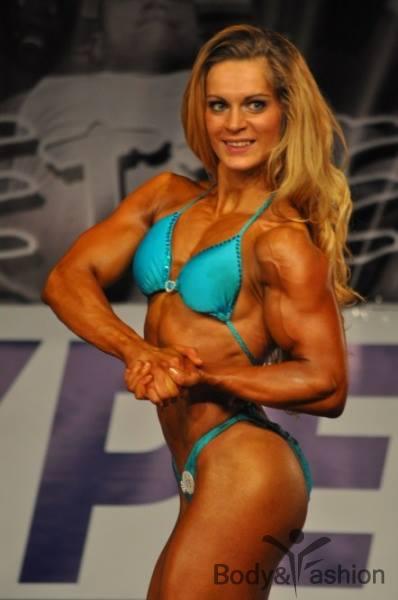 Evelien Nellen Bodybuilding Kleding atleet Flexcup 2012 winnaar 1e plaats