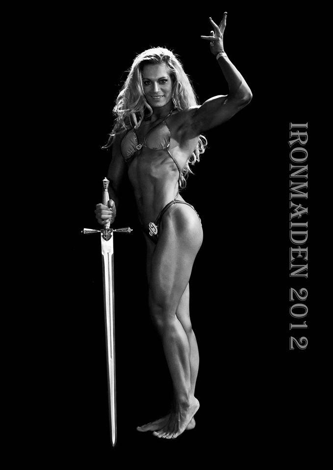 Evelien Nellen Bodybuilding Kleding atleet Winnares IronMaiden 2012