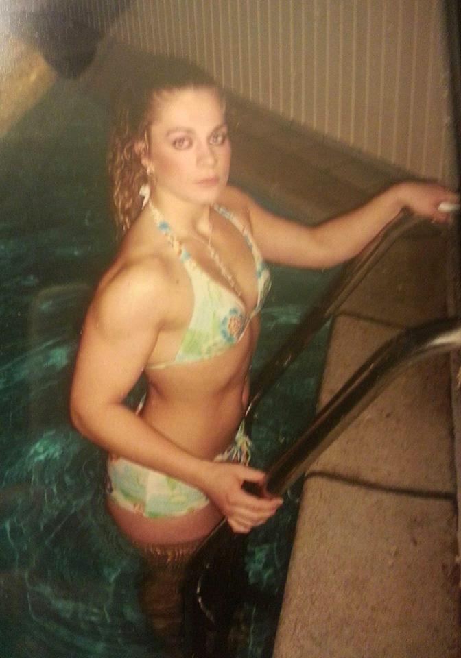 Evelien Nellen Bodybuilding Kleding atleet before