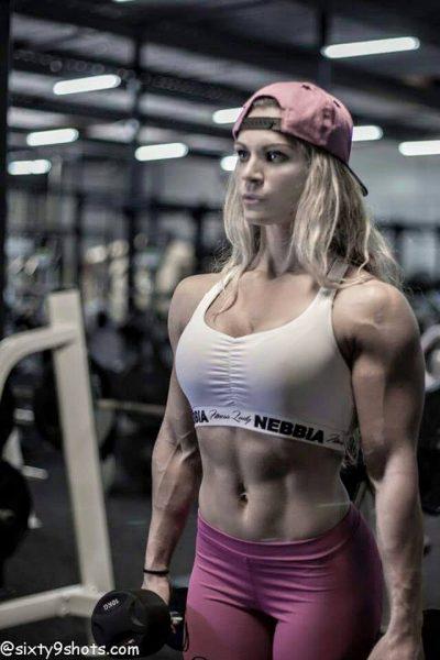 Evelien Nellen Bodybuilding Kleding atleet training outfit Nebbia 807 sporttop