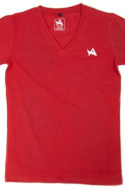 Aesthetix Era bodybuilding t-shirt rood voorkant