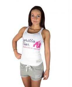 Gorilla Wear Dames Tanktop Wit1