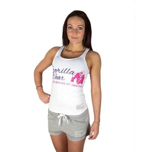 Gorilla Wear Dames Tanktop Wit1
