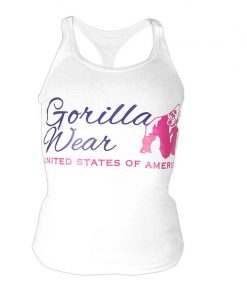 Gorilla Wear Dames Tanktop Wit2