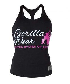 Gorilla Wear Dames Tanktop Zwart2
