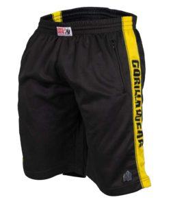 Gorilla Wear Track Shorts ZwartGeel