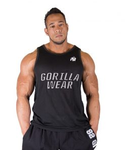 Gorilla Wear New York Mesh Tank Top Zwart