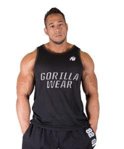 Gorilla Wear New York Mesh Tank Top Zwart