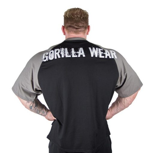 Gorilla Wear Colorado Oversized T-Shirt Zwart-Grijs-2