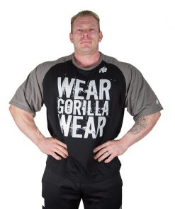 Gorilla Wear Colorado Oversized T-Shirt Zwart-Grijs