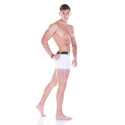 Nebbia Boxershort 101 Wit zijkant