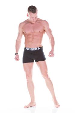 Nebbia Boxershort 101 Zwart voorkant