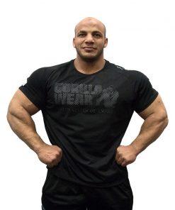 Gorilla Wear Memphis Mesh T-Shirt zwart