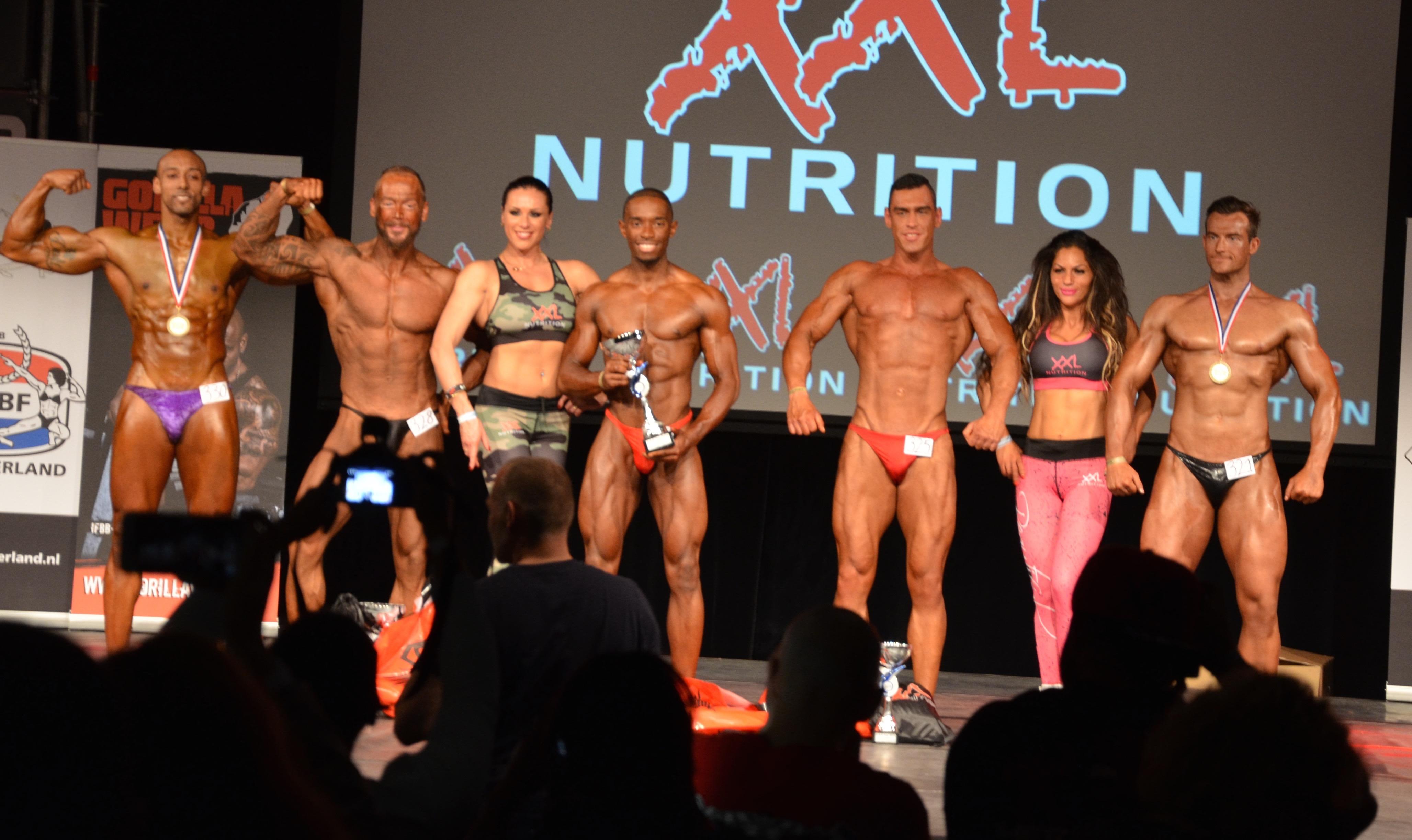 SAP Cup 2015 Classic Bodybuilding top 5