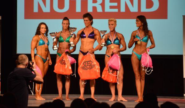 SAP Cup 2015 Dames Physique (Dames fysiek) top 5