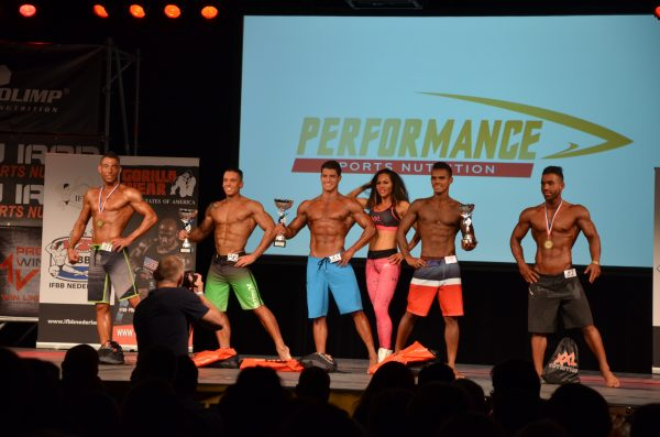 SAP Cup 2015 Men's Athletic Physique I (MP I) top 5