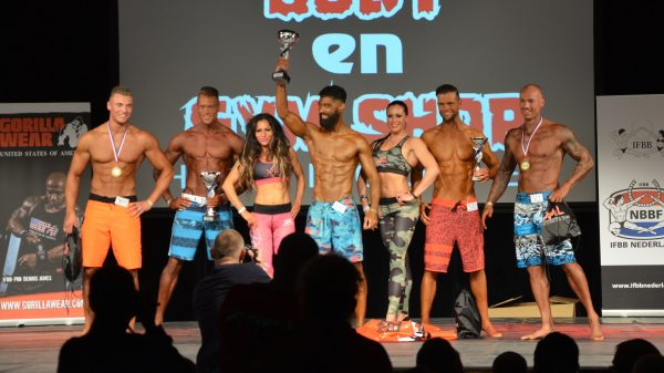 SAP Cup 2015 Men's Athletic Physique IV (MP IV) top 5 Raoul Kostuchowski