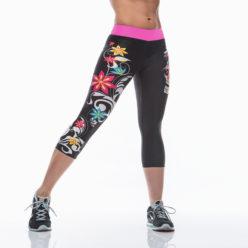 Korte Legging MyWay2Fitness - Sugarskull Perfection CandyCrush-2