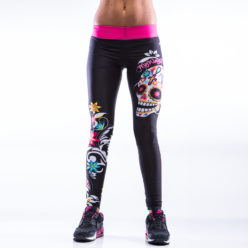 Sportlegging MyWay2Fitness - Sugarskull Perfection CandyCrush-1