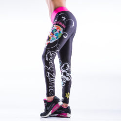 Sportlegging MyWay2Fitness - Sugarskull Perfection CandyCrush-2