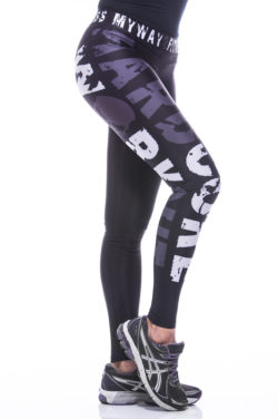 Sportlegging MyWay2Fitness - Hardcore Workout Grijs-2
