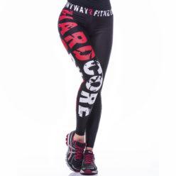 Sportlegging MyWay2Fitness - Hardcore Workout Rood-1