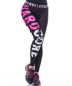 Sportlegging MyWay2Fitness - Hardcore Workout Roze-1