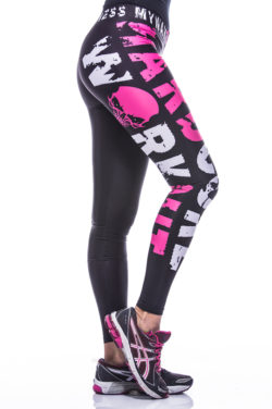 Sportlegging MyWay2Fitness - Hardcore Workout Roze-2