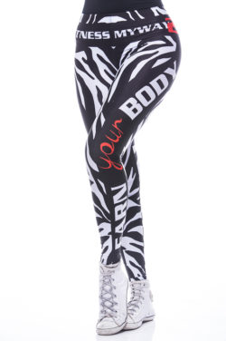 Sportlegging MyWay2Fitness - Zebranation-1