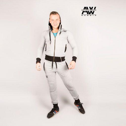 Nebbia Jacket 107 - Bodybuilding Vest Grijs-1
