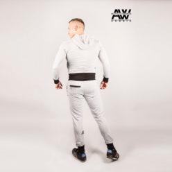 Nebbia Jacket 107 - Bodybuilding Vest Grijs-2