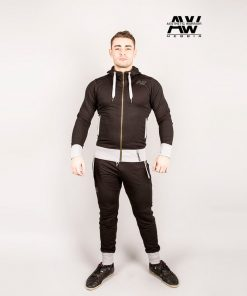 Nebbia Jacket 107 - Bodybuilding Vest Zwart-1