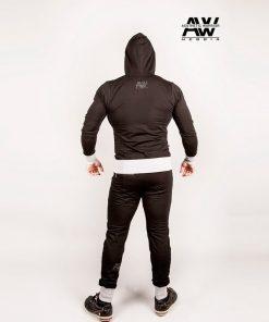 Nebbia Jacket 107 - Bodybuilding Vest Zwart-2