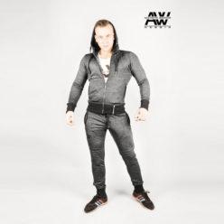 Nebbia Jacket 109 - Bodybuilding Vest Grijs-1
