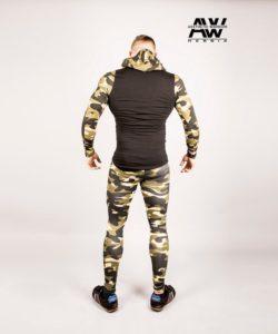 Nebbia Jacket 116 - Bodybuilding Vest Camo-2