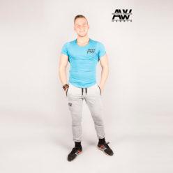 Nebbia Sweatpants 108 - Bodybuilding Lange Broek Grijs-1
