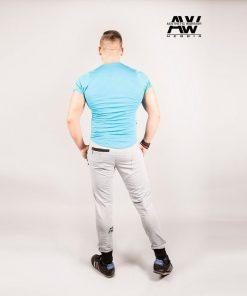 Nebbia Sweatpants 108 - Bodybuilding Lange Broek Grijs-2