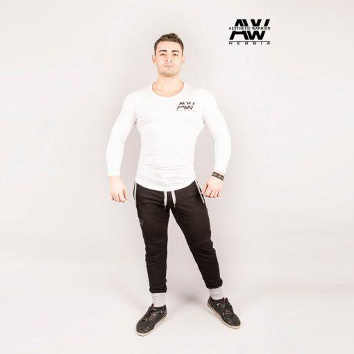 Nebbia Sweatpants 108 - Bodybuilding Lange Broek Zwart-1