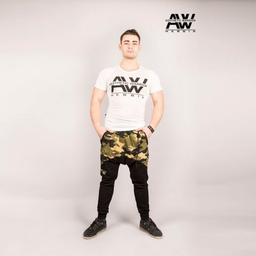 Nebbia Sweatpants 117 - Bodybuilding Lange Broek Camo-1